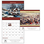 Currier and Ives Wall Calendars